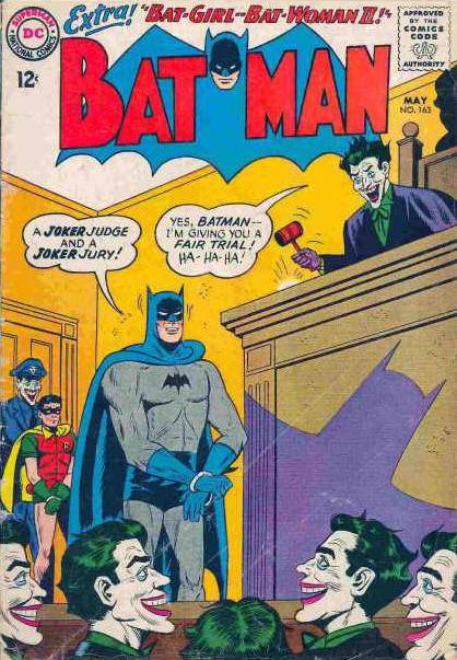 Batman, Copyright DC Comics