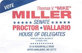 Support Miller, Vallario for Maryland's 27th District